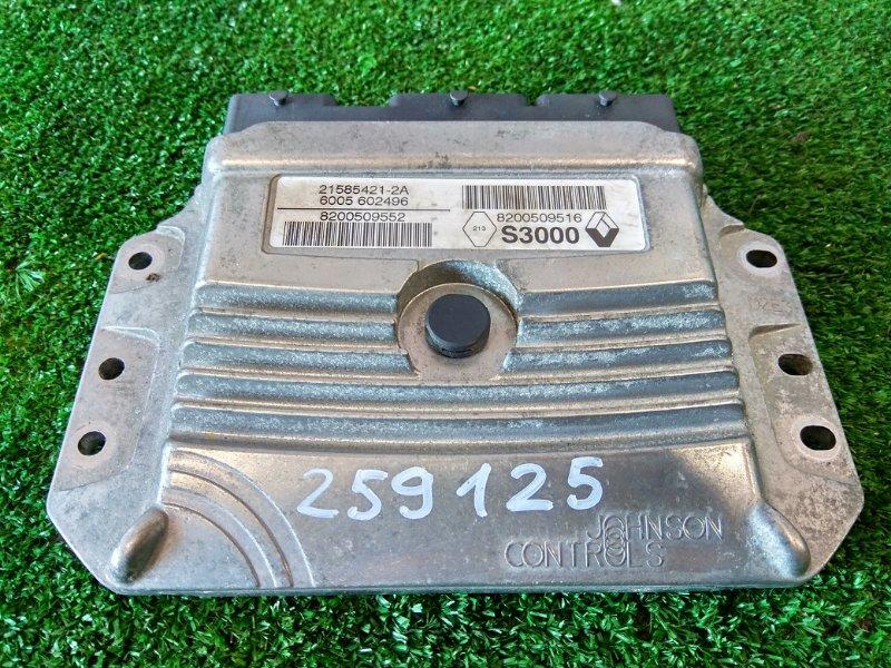 Компьютер Renault Megane BM F4R 2002 блок управления ДВС