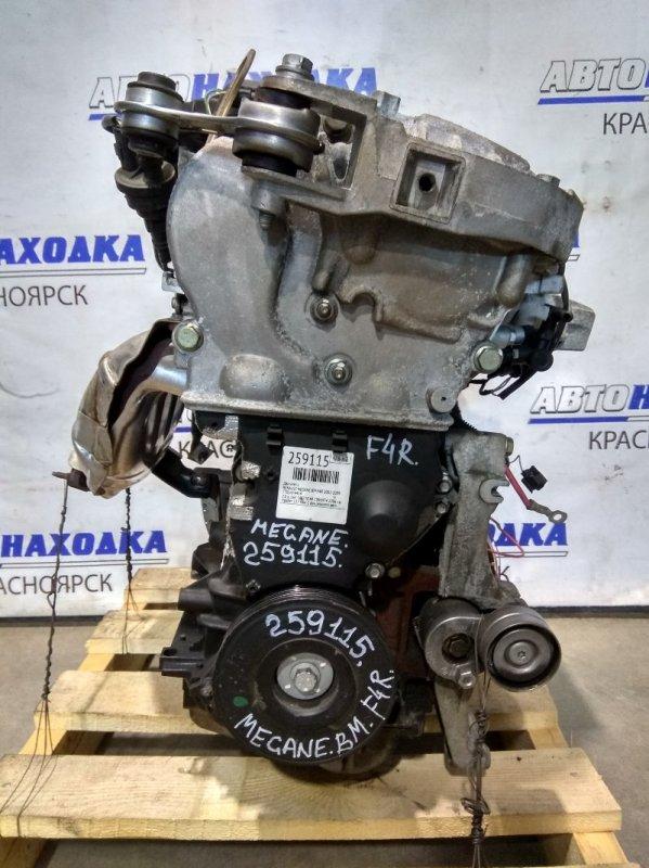 Двигатель Renault Megane BM F4R 2002 C096974 2.0 л. 16V F4R770 № C096974 2006 г.в. Пробег 117 т.км. С аукционного