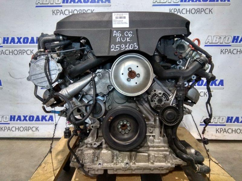 Двигатель Audi A6 C6 AUK 2004 3,2 л. AUK № 007355 2005 г.в. Пробег 120 т.км. С аукционного авто. Есть