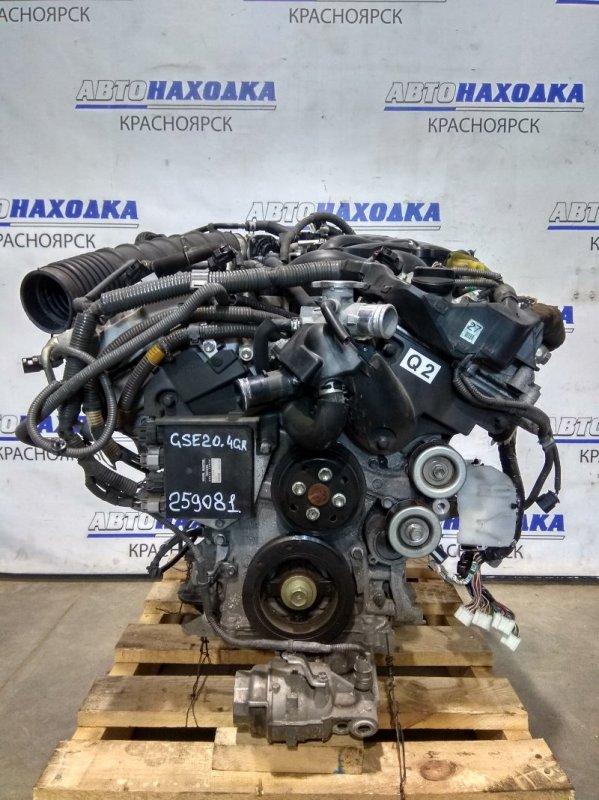 Двигатель Lexus Is250 GSE20 4GR-FSE 2005 № 0291520 пробег 96 т.км. 12.2006 г.в. С аукционного авто. Есть
