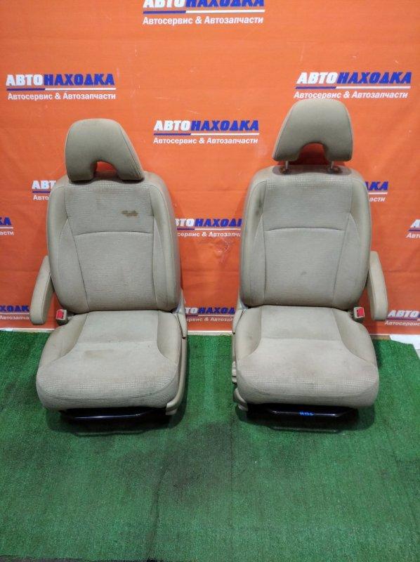 Сиденья Honda Cr-V RD6 K24A 2004 передняя пара тканевые