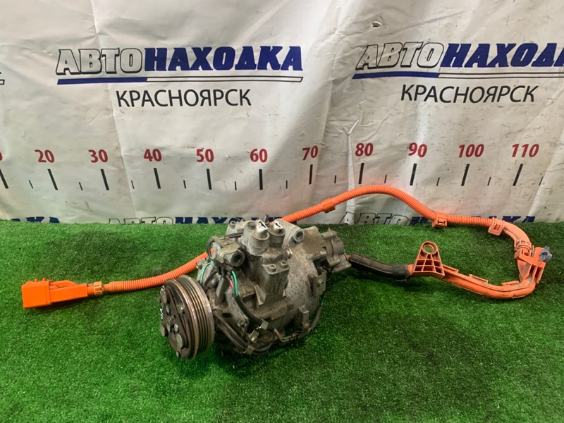 Компрессор кондиционера Honda Civic FD3 LDA 2005 пробег 72 т.км. ХТС. С аукционного авто.