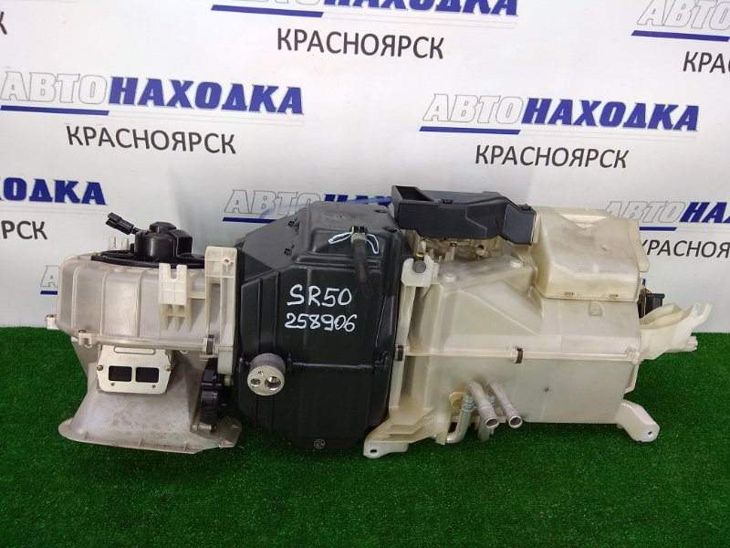 Радиатор печки Toyota Town Ace Noah SR50G 3S-FE 1996 правый передний отопитель в сборе (2 радиатора,