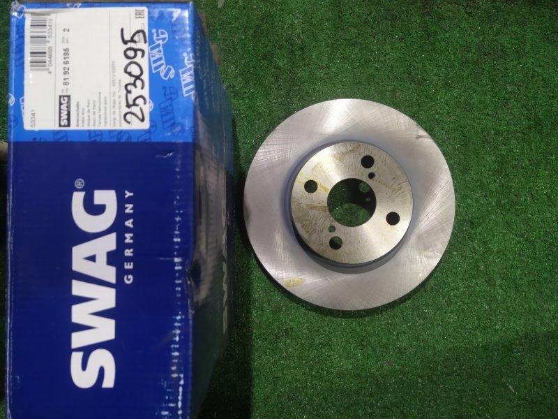 Диск тормозной SWAG 254.8*25  4 отверстия