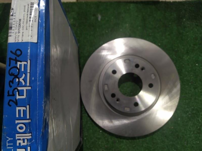 диск переднего тормоза GR