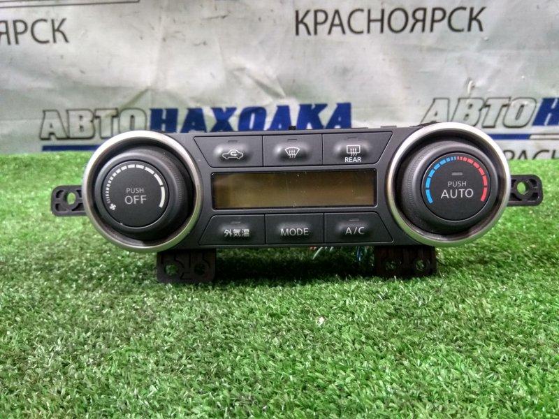Климат-контроль Nissan Tiida Latio SC11 HR15DE 2004 2 мод. электронный