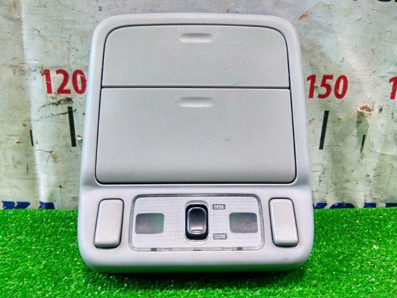 Плафон салона Subaru Forester SG5 EJ20-T 2002 передний передний с двумя бардачками и кнопкой люка,