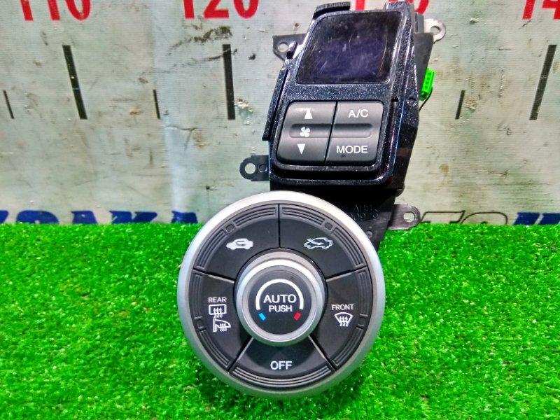 Климат-контроль Honda Insight ZE2 LDA 2009 электронный, с фишками