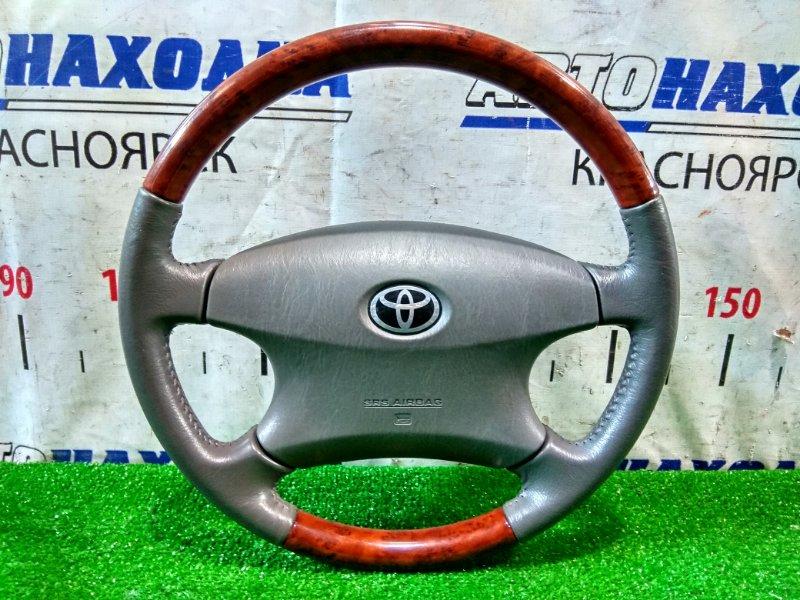 Airbag Toyota Estima MCR30W 1MZ-FE 2000 водительский, с рулем, с вставками под дерево, с подушкой,