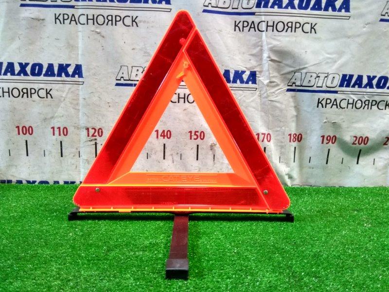 Знак аварийной остановки Nissan X-Trail NT30 QR20DE 2003 штатный знак аварийной остановки, в