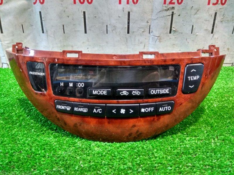 Климат-контроль Toyota Estima MCR30W 1MZ-FE 2000 электронный, с фишкой, дефект двух крепежей на