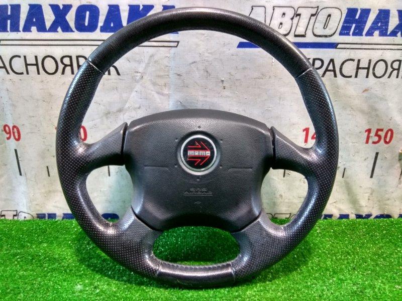 "Airbag Subaru Forester SG5 EJ20-T 2002 с рулем, ""MOMO"" кожа в ХТС, с мешком, без патрона"