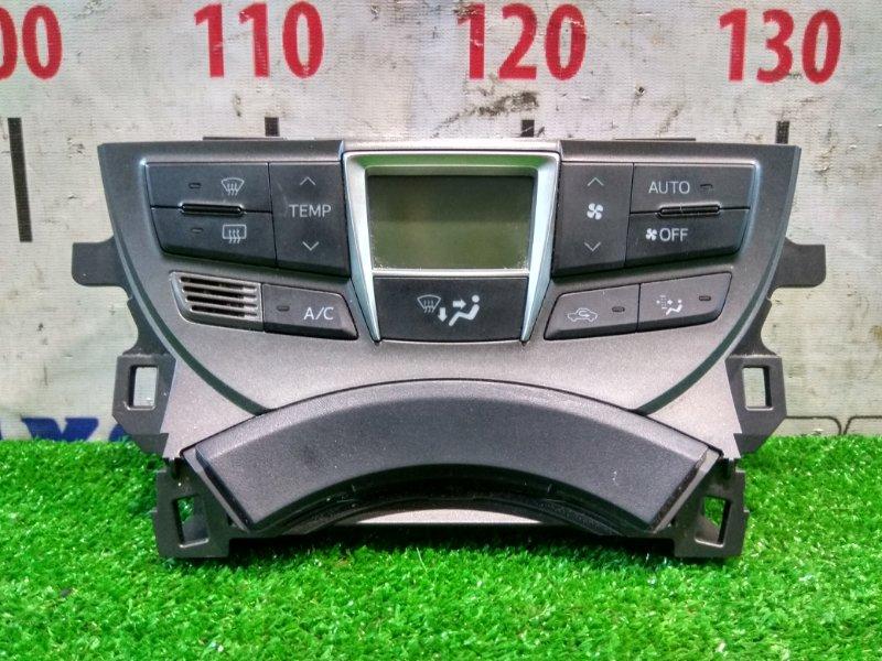 Климат-контроль Toyota Ractis NSP120 1NR-FE 11.2010 с рамкой, в ХТС