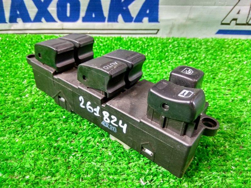 Блок управления стеклоподъемниками Nissan X-Trail NT30 QR20DE 2003 передний правый 2 мод. Под 2 фишки