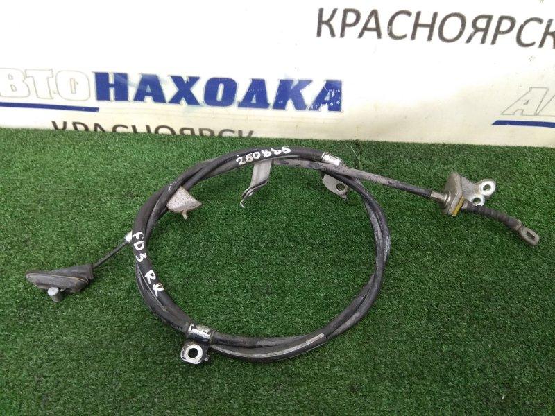 Трос ручника Honda Civic FD3 LDA 2005 задний правый задний правый, под дисковые тормоза