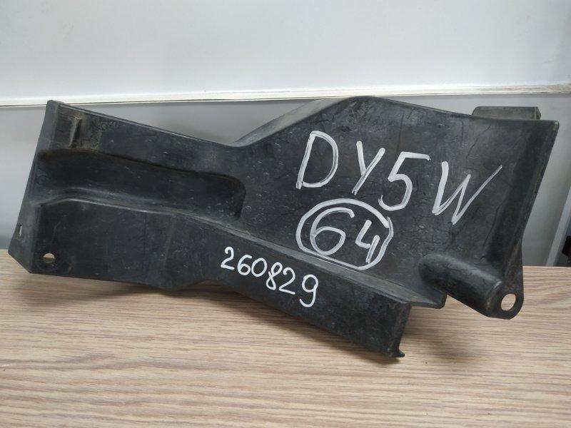 Защита радиатора Mazda Demio DY5W передняя левая