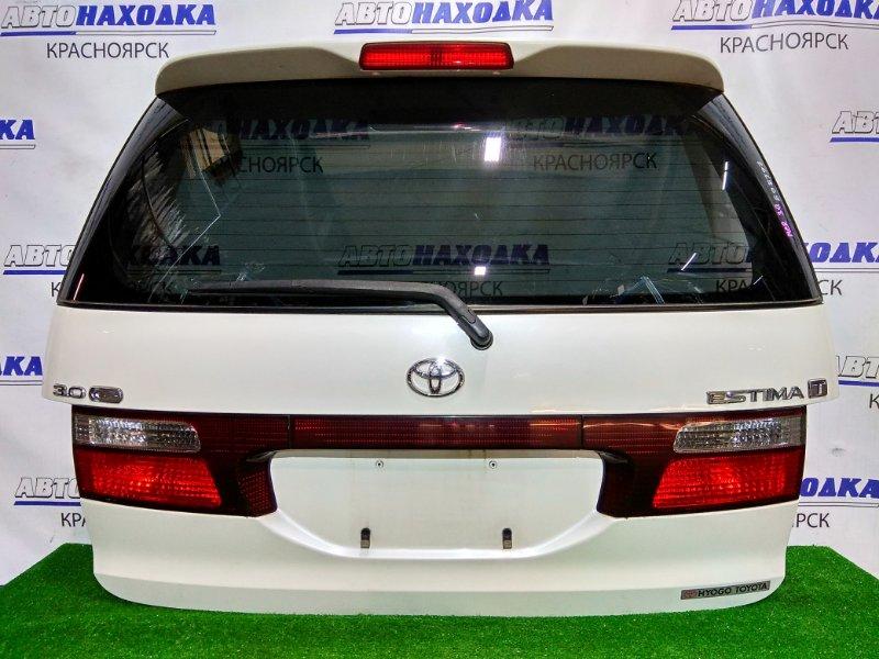 Дверь задняя Toyota Estima MCR30W 1MZ-FE 2000 задняя 1 мод. цвет 042, в сборе. В ХТС