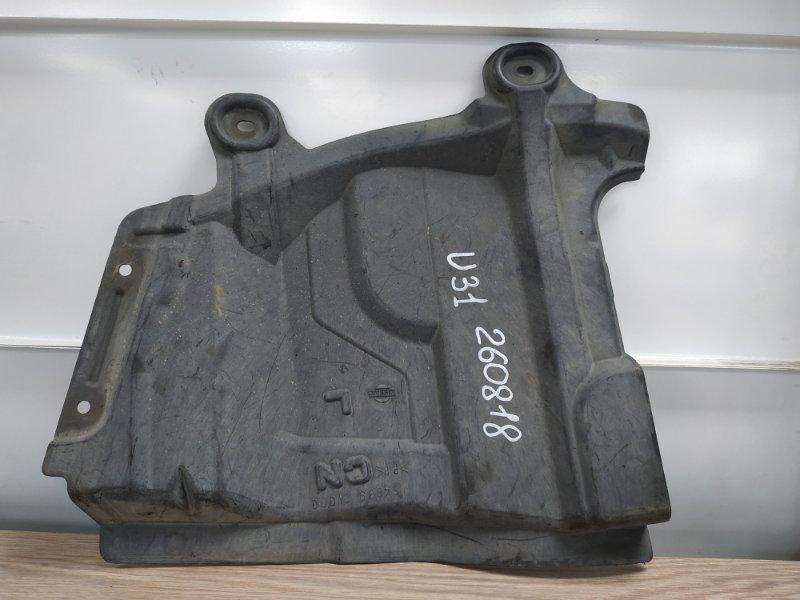 Защита двс Nissan Presage U31 QR25DE передняя левая 64839-CN000