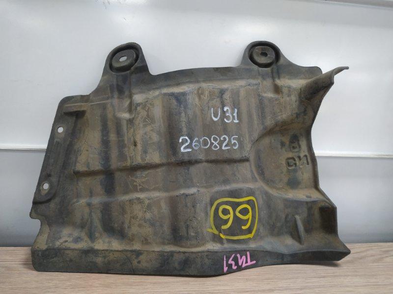 Защита двс Nissan Presage U31 QR25DE передняя правая 64838-CN000