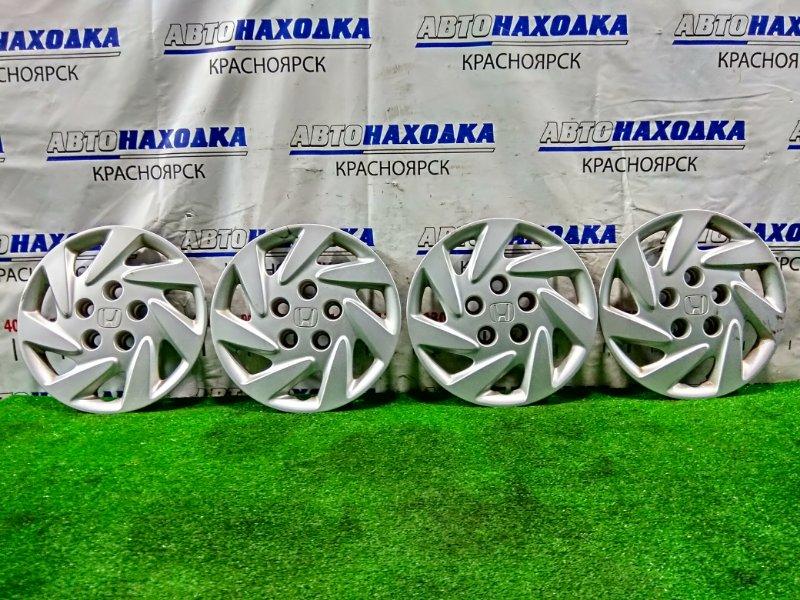 Колпаки колесные Honda Stream RN1 D17A 2003 комплект 4 шт. R14 . Оригинал. Есть потертости *