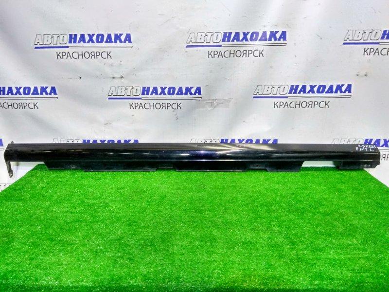 Порог Honda Stream RN1 D17A 2003 левый пластиковый, . 2 мод., левый. Пошоркан