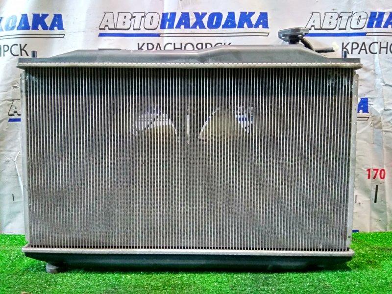 Радиатор двигателя Honda Civic FD3 LDA 2005 В сборе, A/T, с вентиляторами и диффузором, датчик