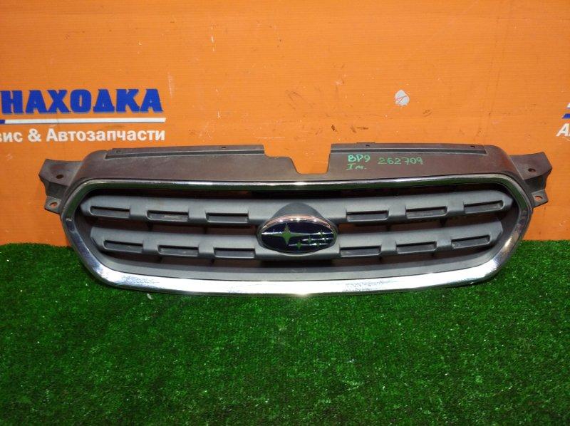 Решетка радиатора Subaru Outback BP9 EJ20 2003 1мод хром облез
