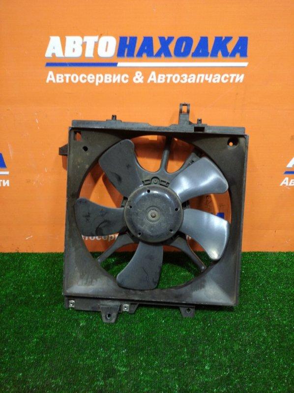 Вентилятор радиатора Subaru Forester SF5 EJ20 1997 левый с диффузором основной
