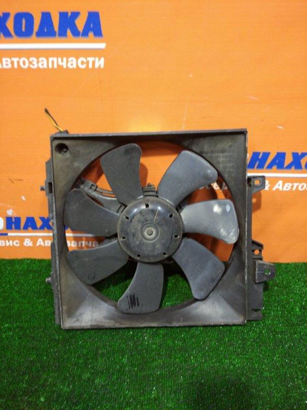 Вентилятор радиатора Subaru Forester SF5 EJ20 1997 правый +2 диффузора с вентиляторами+бачек