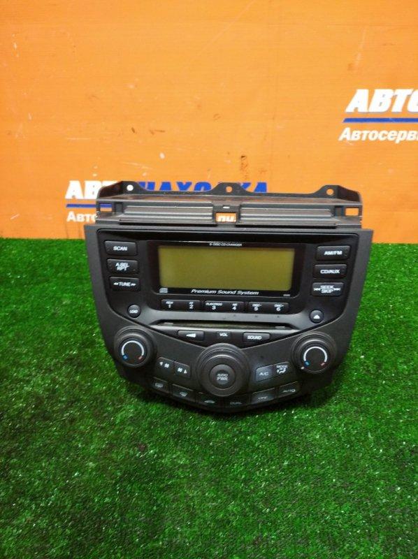 Климат-контроль Honda Accord CL9 K24A 2002 +магнитофон
