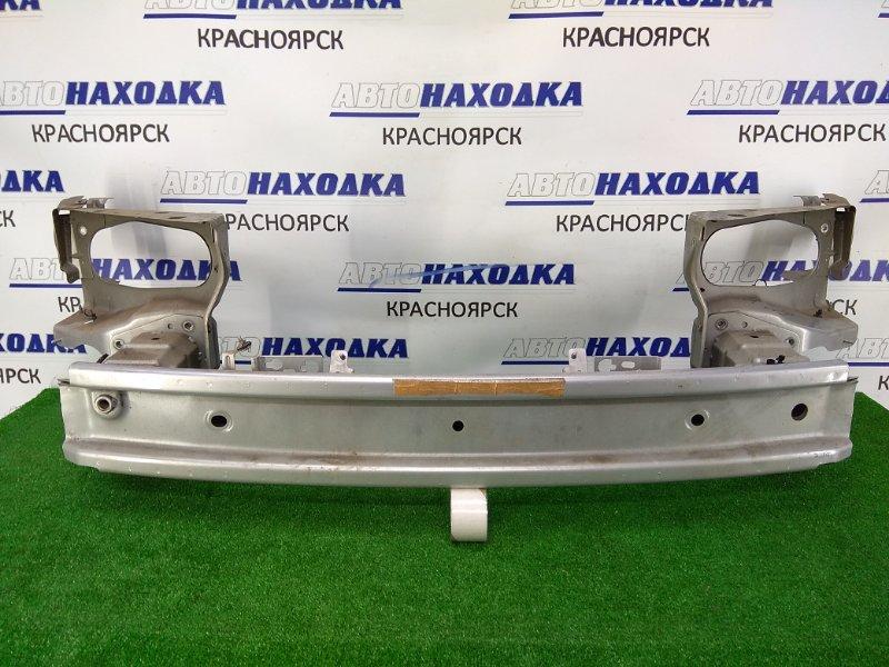 Усилитель бампера Saab 9-3 YS3F B207E 2002 передний передний швеллер, с рамками крепления фар