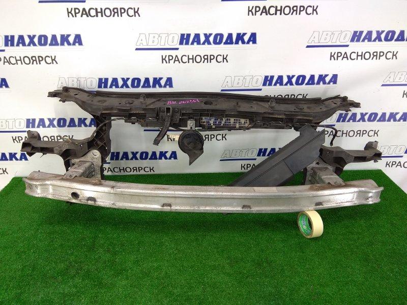 Рамка радиатора Renault Megane BM F4R 2002 пластиковая, с алюминиевым усилителем (швеллером),