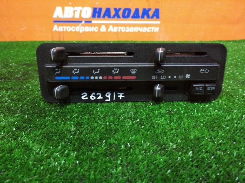 Климат-контроль Toyota Tercel EL51 4E-FE 1994 механическая