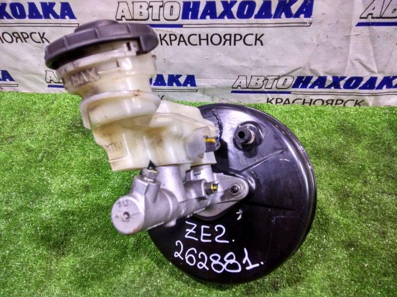 Главный тормозной цилиндр Honda Insight ZE2 LDA 2009 с вакуумом и бачком, правый руль