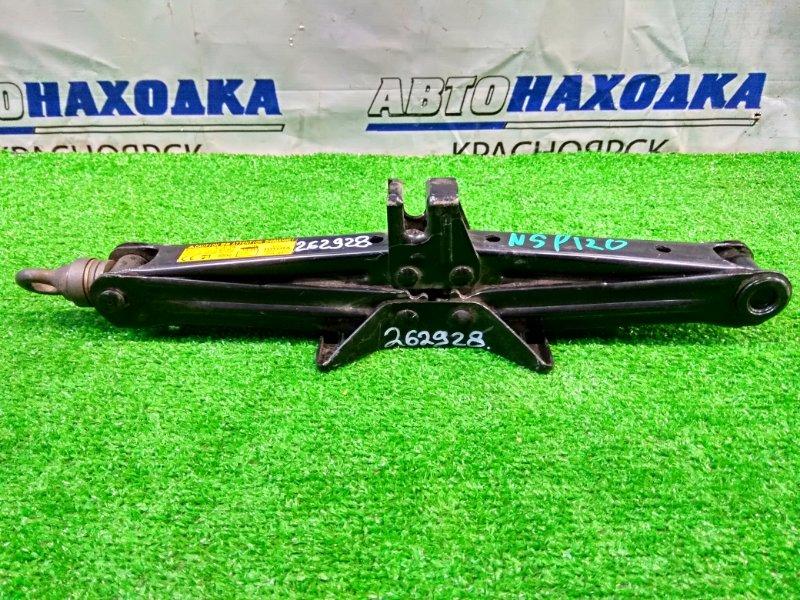 Домкрат Toyota Ractis NSP120 1NR-FE 2010 грузоподъемность 800 кг.