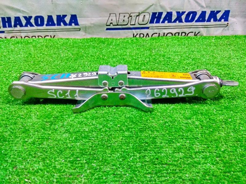 Домкрат Nissan Tiida Latio SC11 HR15DE 2004 грузоподъемность 900 кг.