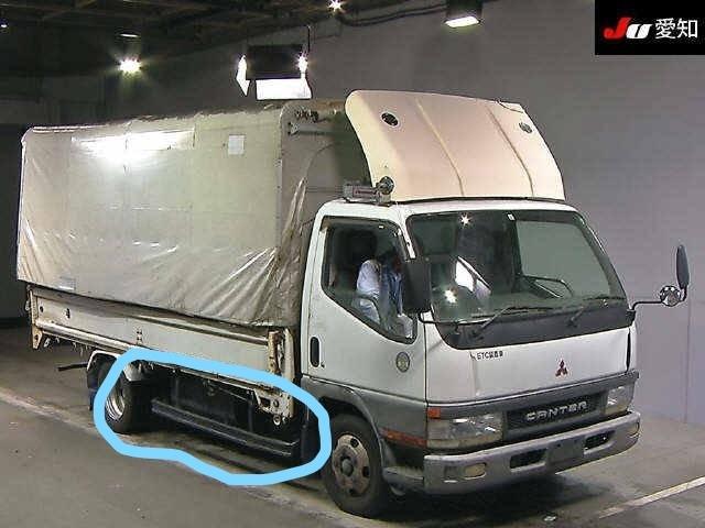 Отбойник кузова Mitsubishi Canter FE62EE 4M51 2000 правый Металлический отбойник (ограничитель)