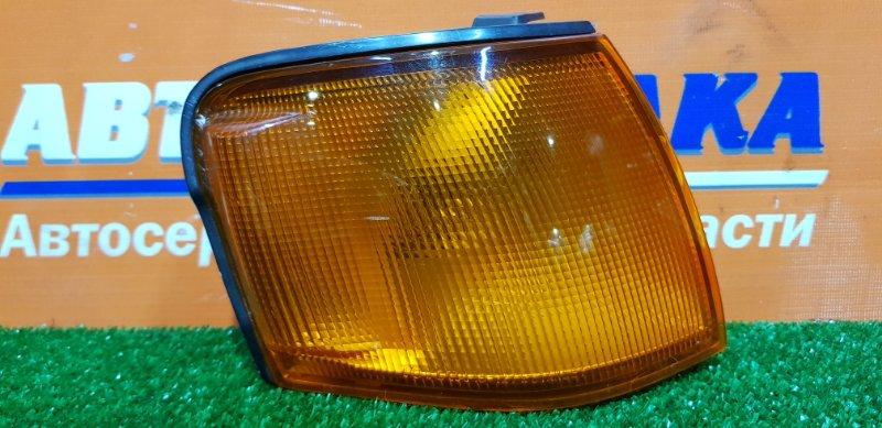 Фонарь габаритный Toyota Tercel EL51 4E-FE 1994 правый 16-127 1мод седан оранжевый фон