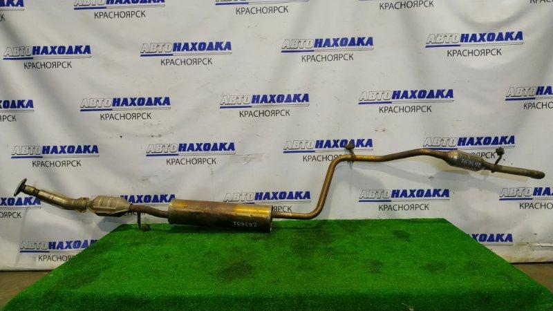 Глушитель Mitsubishi Mirage A05A 3A90 2012 вся трасса (с катализатором) , резонатором и задней
