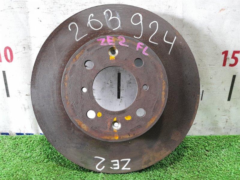 Диск тормозной Honda Insight ZE2 LDA 2009 передний передний, диаметр 262мм