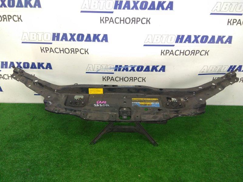 Рамка радиатора Saab 9-3 YS3F B207E 2002 верхняя верхняя часть с замками