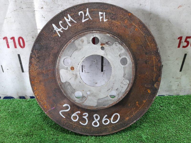 Диск тормозной Toyota Ipsum ACM21W 2AZ-FE 2001 передний передний диаметр 275мм