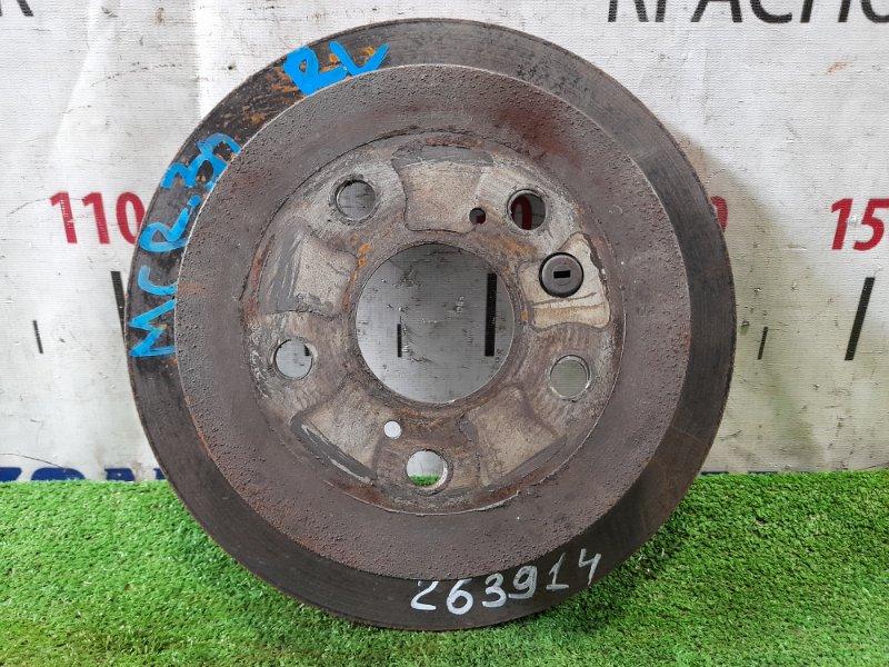 Диск тормозной Toyota Estima MCR30W 1MZ-FE 2000 задний задний, диаметр 275мм