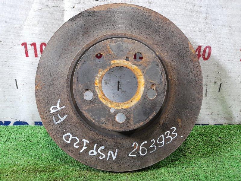 Диск тормозной Toyota Ractis NSP120 1NR-FE 2010 передний передний, диаметр 275 мм.