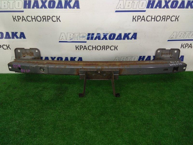 Усилитель бампера Mazda Axela BK3P L3-VE 2003 задний задний швеллер, седан, ржавчина *