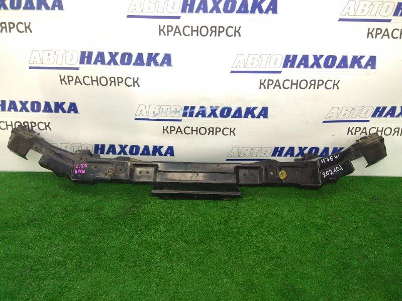 Усилитель бампера Mitsubishi Pajero Io H76W 4G93 1998 передний передний усилитель передний, верхний,