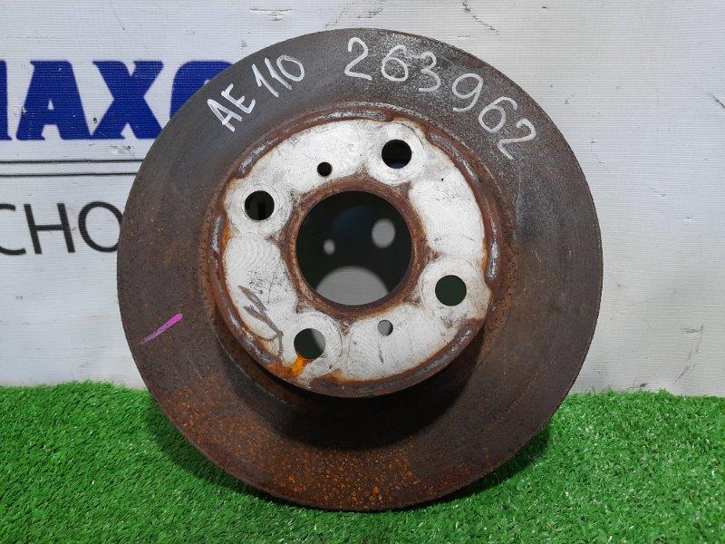 Диск тормозной Toyota Corolla AE110 5A-FE передний передний диаметр 238 мм.