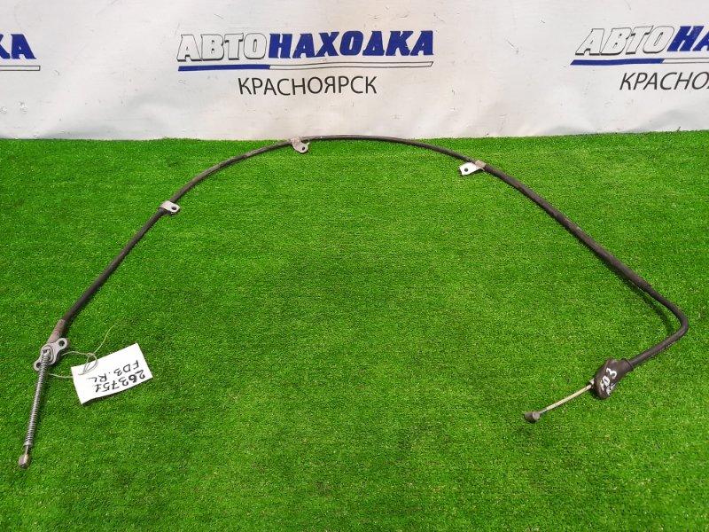 Трос ручника Honda Civic FD3 LDA 2005 задний левый левый, под барабанные тормоза