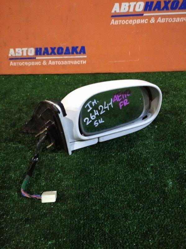 Зеркало Toyota Sprinter AE110 5A-FE 1995 правое 1мод 5к под покраску