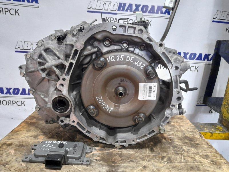 Акпп Nissan Teana J32 VQ25DE 2008 вариатор RE0F10A GB61 пробег 106 т.км. С аукционного авто